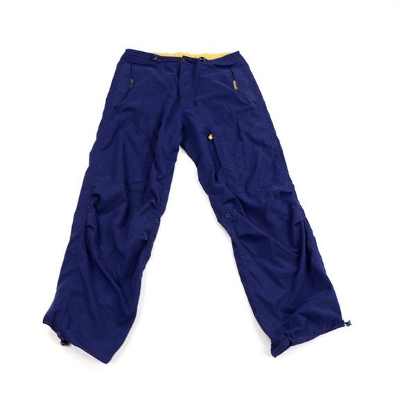 Vintage 90s GAP Streetwear Cuffed Cargo Pants Blue